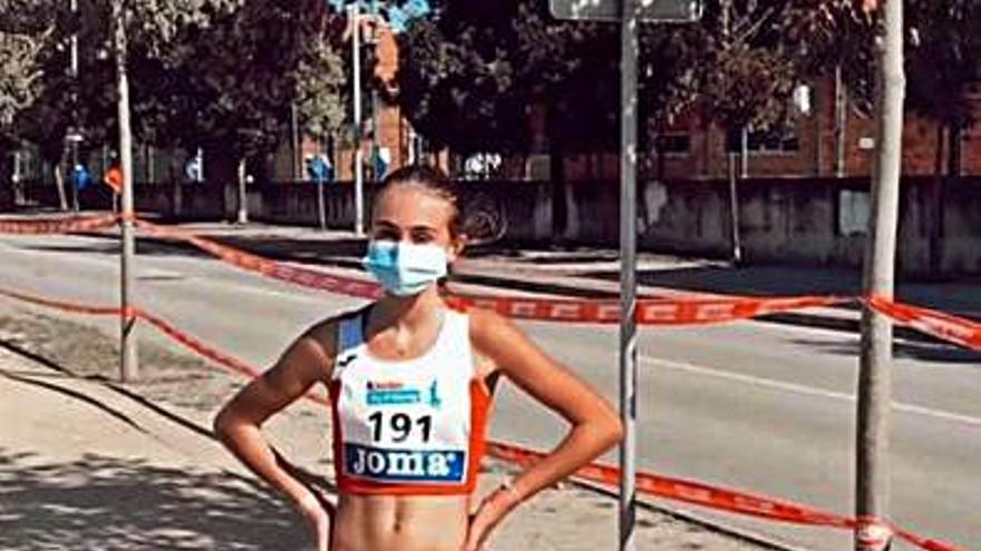 Galicia llama a la atleta estradense Natalia Rivas para el Nacional