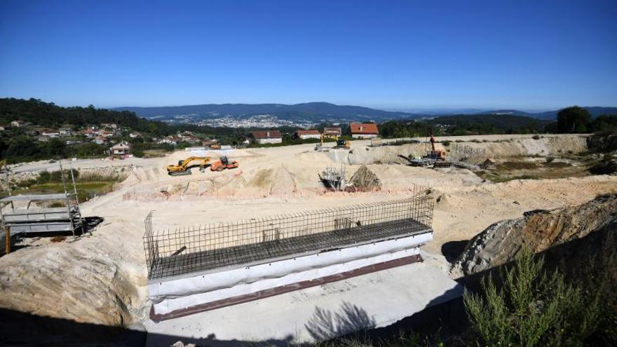 ¿En qué punto se encuentran las obras del primer tramo de la futura circunvalación de Pontevedra?