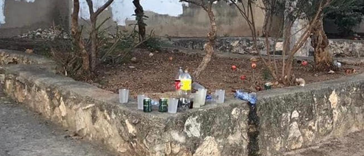 La presión policial reduce el botellón sin mascarillas        del fin de semana en Alberic