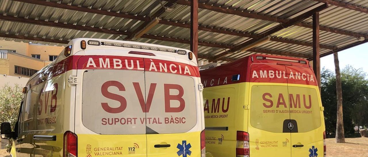 La herida ha sido trasladada al hospital Clínico de València