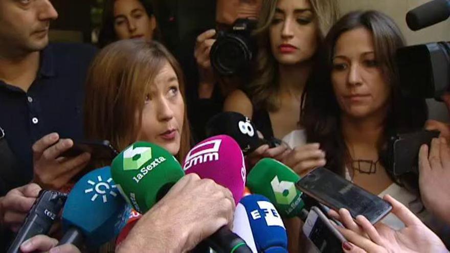 """La presidenta del Comité Federal: """"Soy la única autoridad del PSOE"""""""