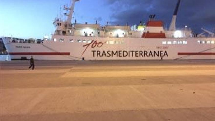 "Neue Trasmediterránea-Fähre ""Nura Nova"" verbindet Mallorca und Menorca"