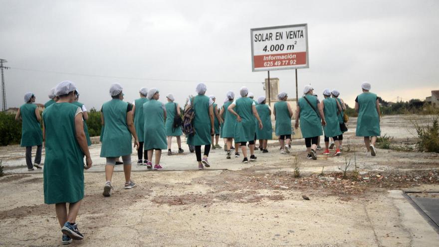 Más de cien puestos de trabajo hechos cenizas en Murcia