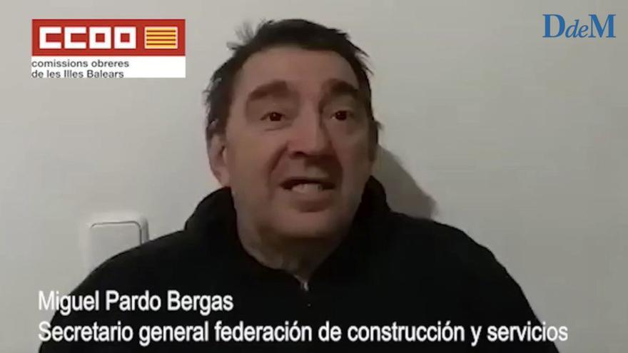 Escucha aquí las polémicas declaraciones del delegado de CCOO sobre la huelga de basuras de Mallorca