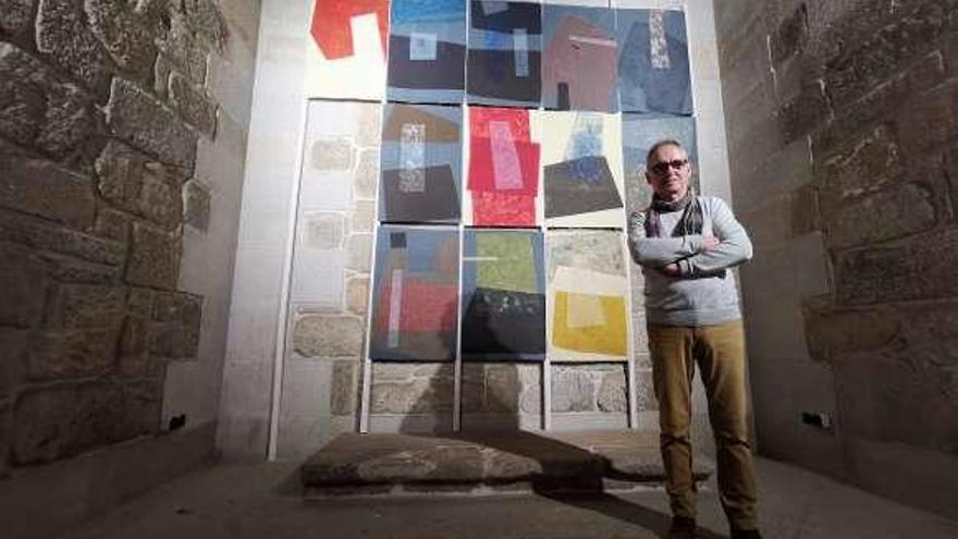 Leonardo Rial graba su arte