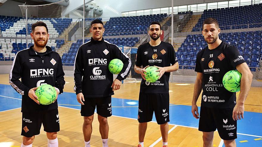 El Palma Futsal recibe al Peñíscola con la asignatura pendiente del gol
