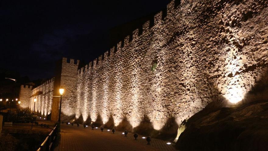 Nueva iluminación para las murallas medievales de Segorbe