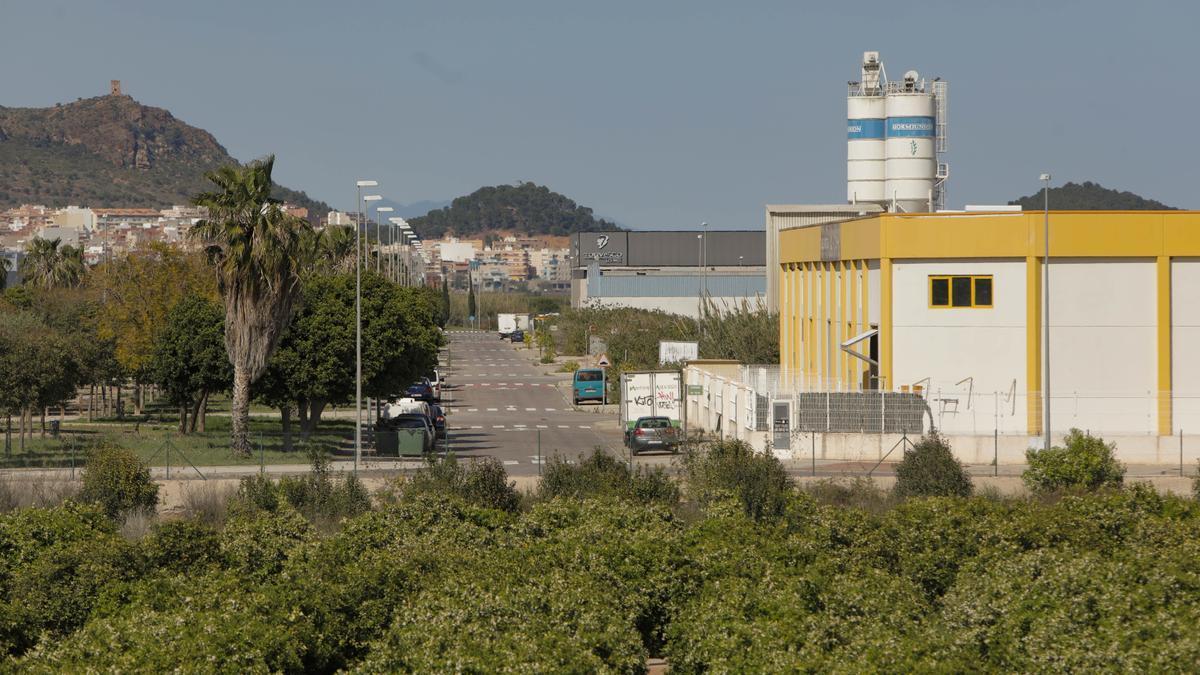 Vista del polígono La Foia