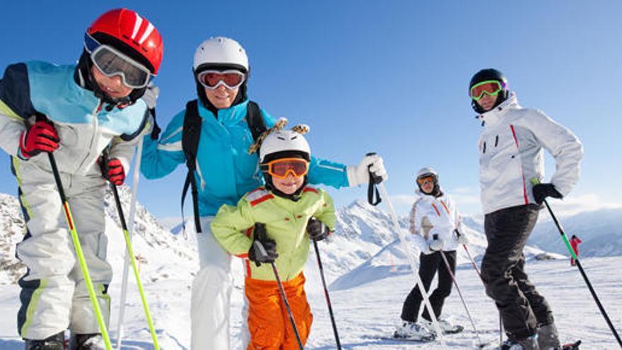 ¿Cuál es la mejor edad para empezar a esquiar?