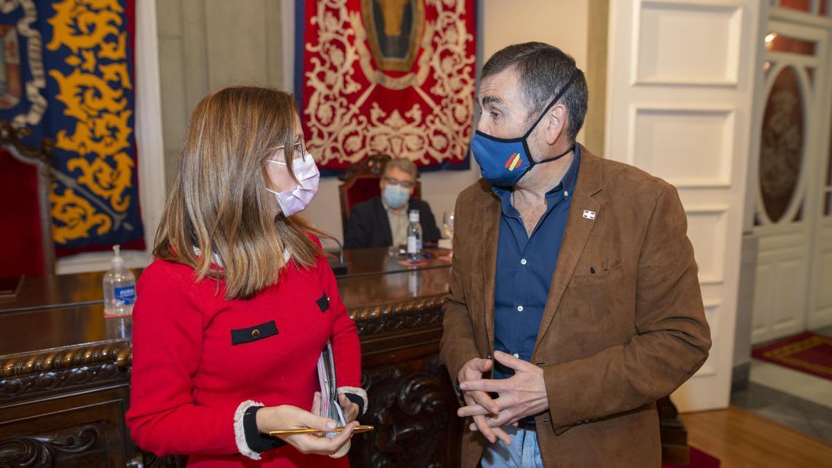 José López Y Ana Belén Castejón.