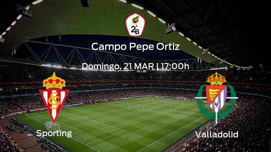 Última jornada de la Primera Fase de Segunda B: previa del encuentro Sporting B - Valladolid B