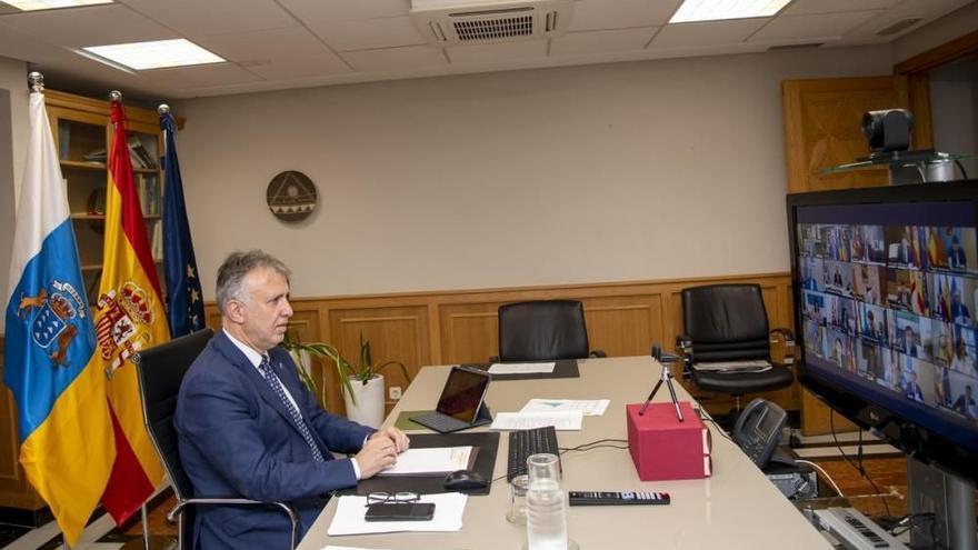 Torres ofrece Canarias para la próxima Conferencia de Presidentes y pide la asistencia de Pere Aragonés