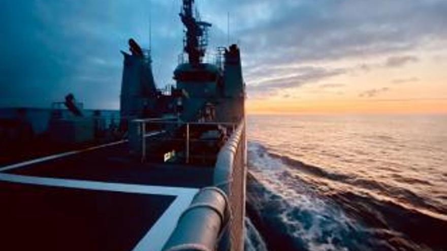 El patrullero Tarifa regresa a Cartagena tras completar su última misión