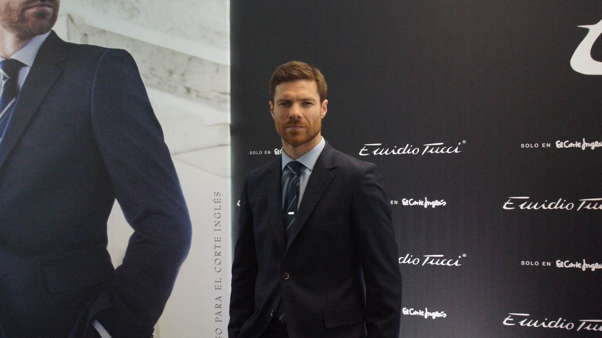 Former footballer Xabi Alonso in a file image