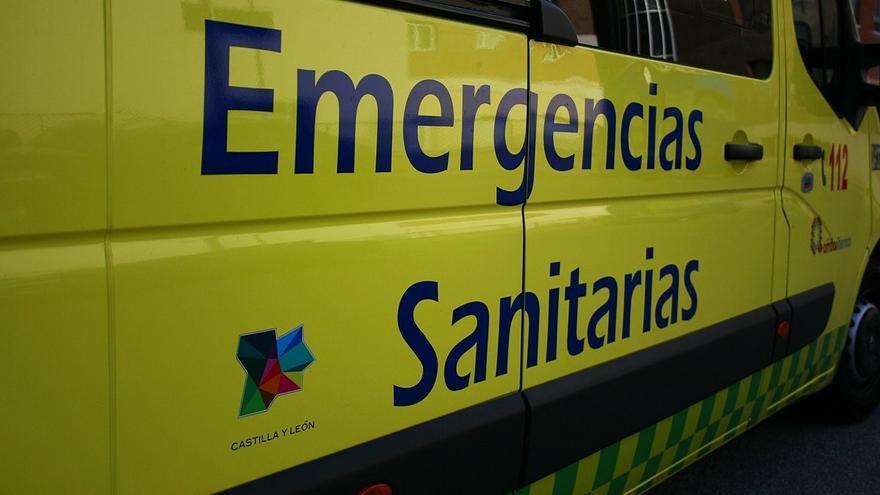Diez heridos, cinco de ellos trasladados a hospitales, en una colisión múltiple en Tordesillas