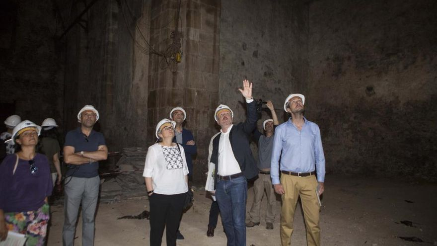Visita a Tabacalera de la Alcaldesa Ana González