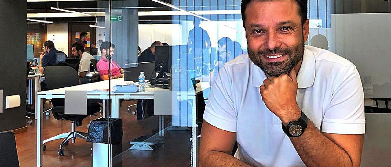 El CEO de Orizon, Ángel Pineda.  | INFORMACIÓN