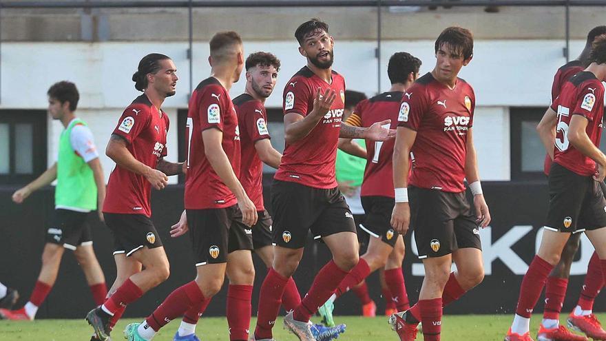El Valencia se lleva un partido loco