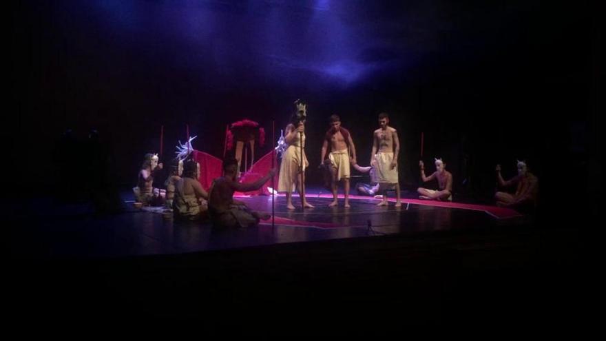 """Así fue el """"Kohuro"""" del taller de Origami Teatre"""
