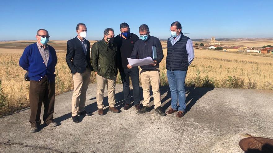 La Diputación invertirá más de 53.000 euros en un nuevo depósito de agua en Villardondiego