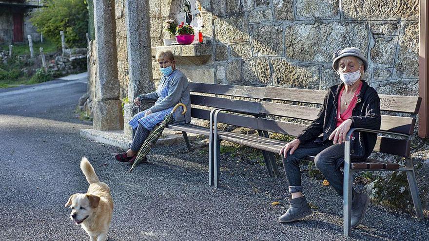 Otra vez aislados en el Ourense vaciado