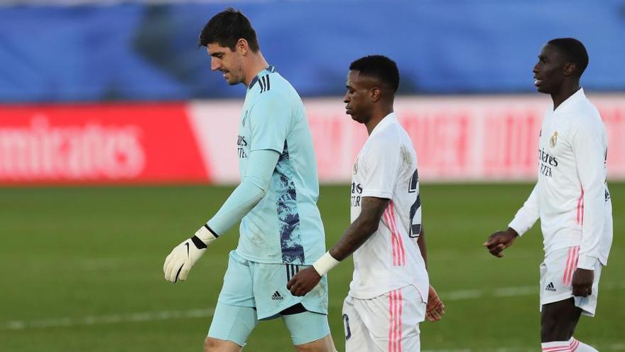 El Madrid torna a caure a Valdebebas