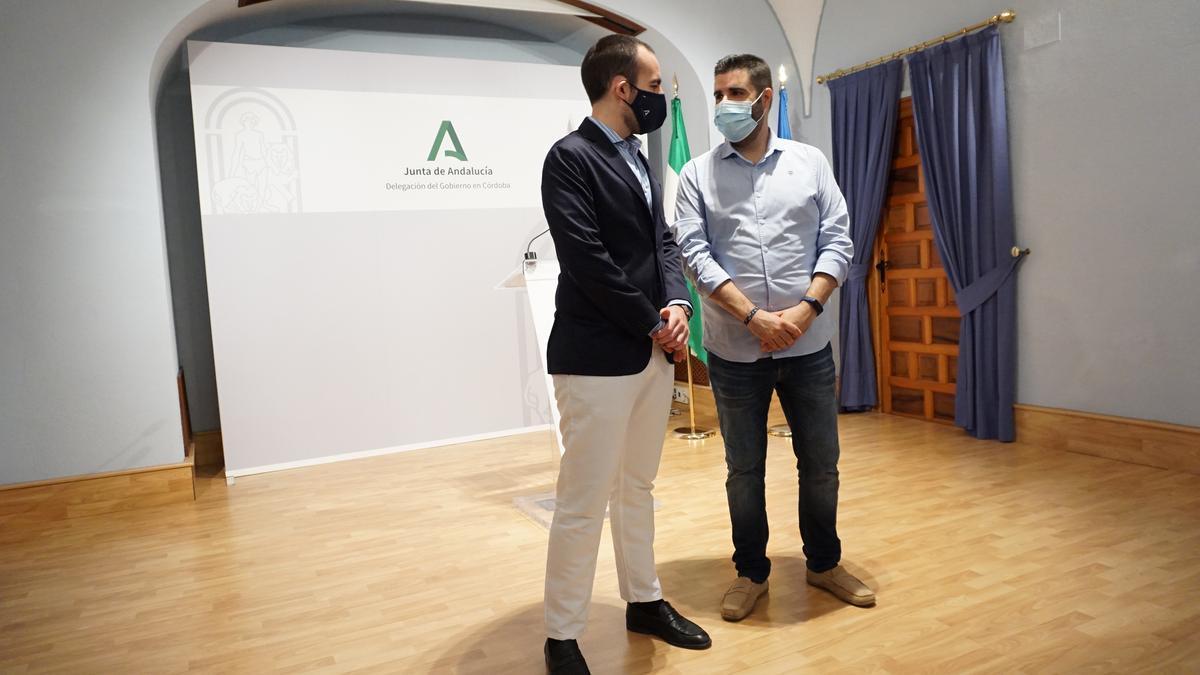Ángel Herrador y Salvador García.