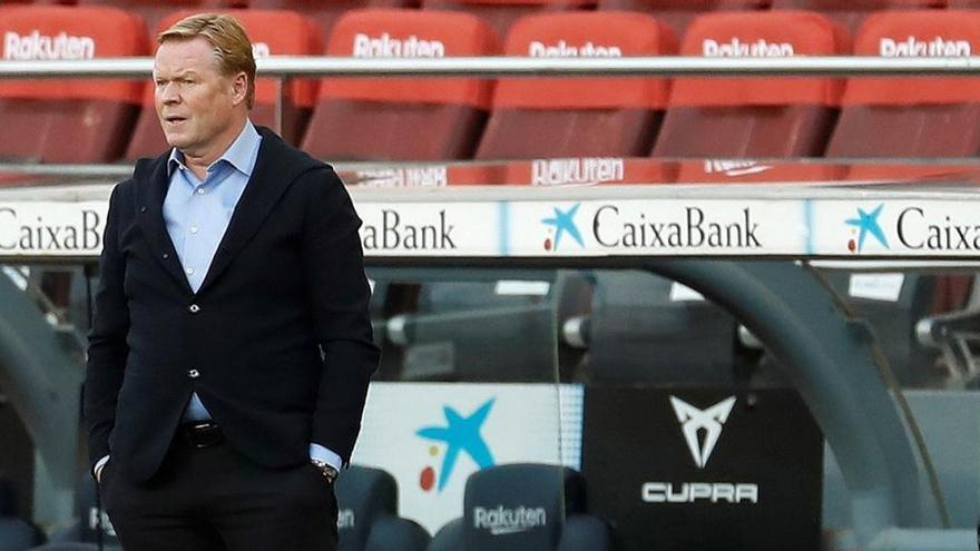 """Koeman: """"¿Por qué el VAR solo se usa contra el Barça?"""""""