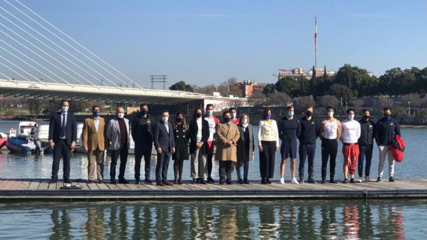 El K-4 500 de Miguel García afina con la esperanza puesta en los Juegos de Tokio