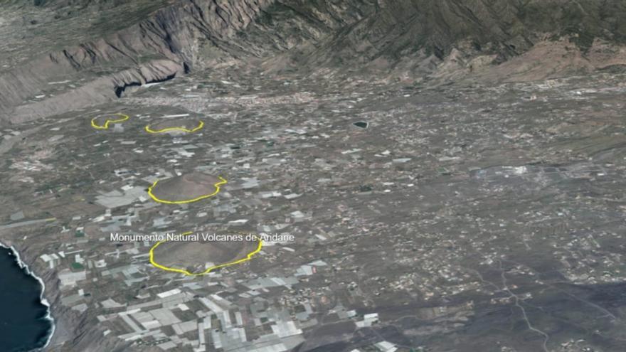La Palma aprueba de forma inicial las Normas de Conservación del Monumento Natural Volcanes de Aridane