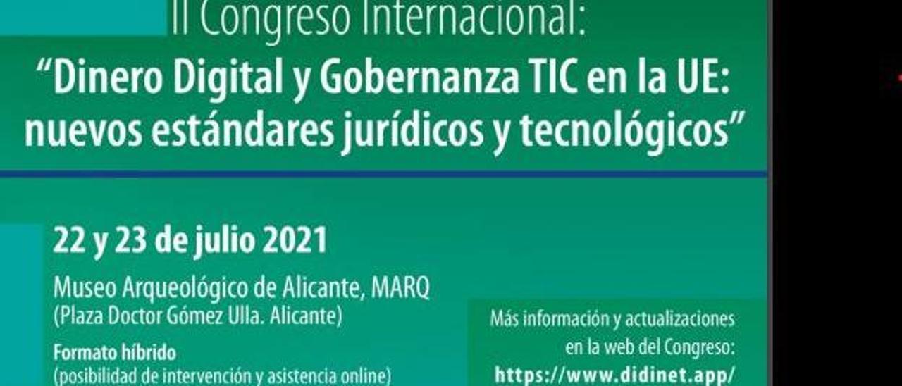 El congreso tendrá lugar los días 22 y 23 de julio en Alicante