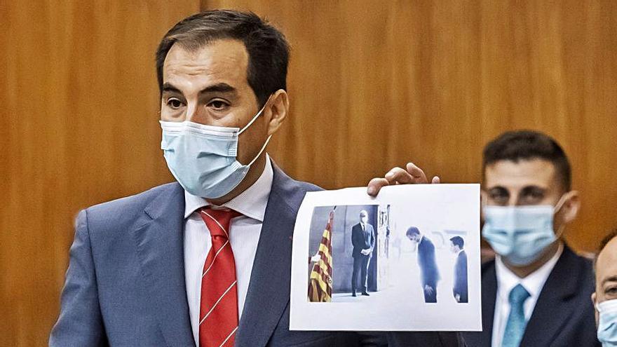 Moreno quiere presupuestos «cuanto antes» y una bilateral