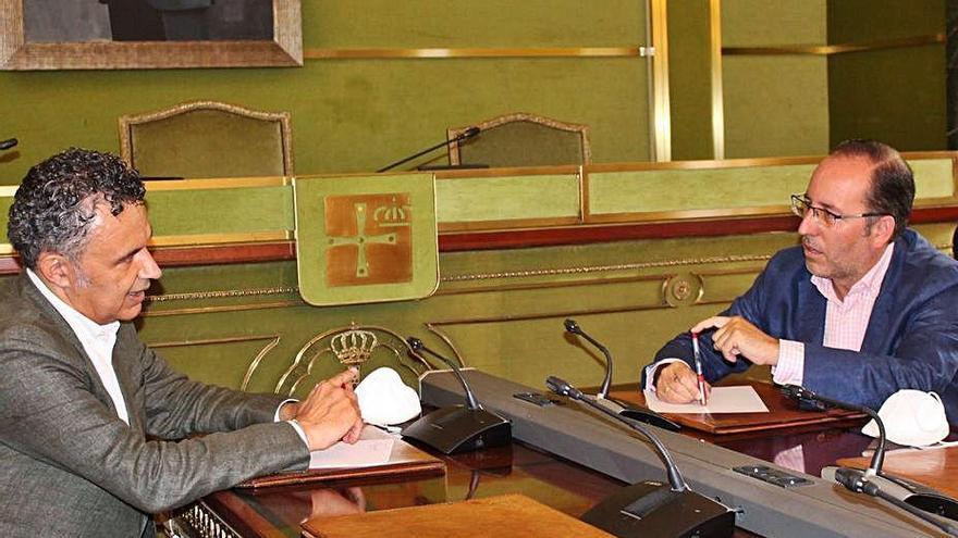 Cumbre con Logroño por los ahorros municipales