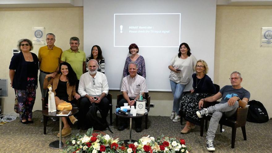 Miquel Mascaró y Antoni Pinya disertan sobre la 'panada' en Cerdeña