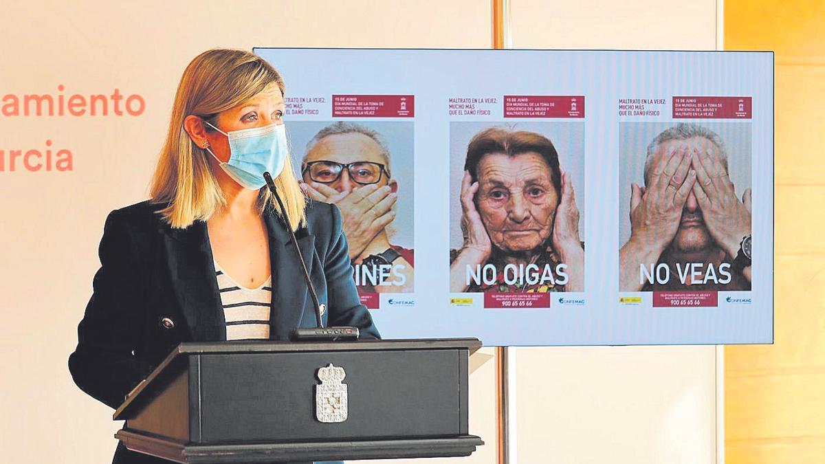 Paqui Pérez presenta la campaña de Cofemac que se ejecutará en Murcia
