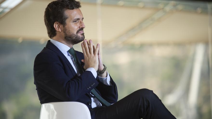Casado achaca a los pactos de Sánchez el rechazo de los países europeos a entregar a Puigdemont