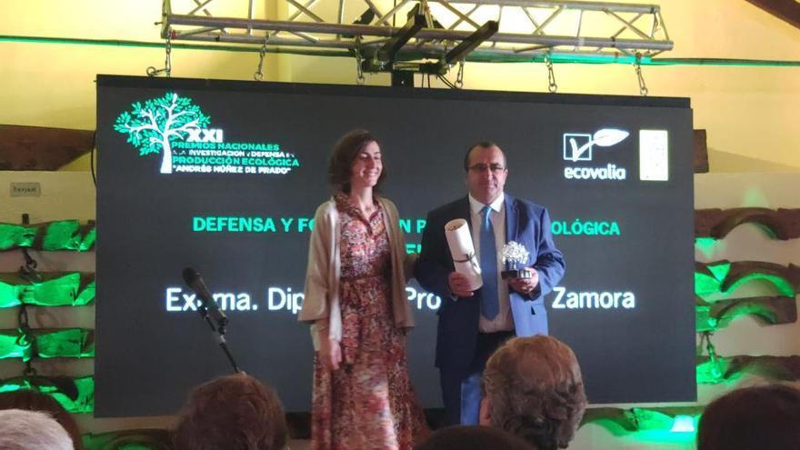 Andalucía premia a Zamora por su defensa en la producción ecológica