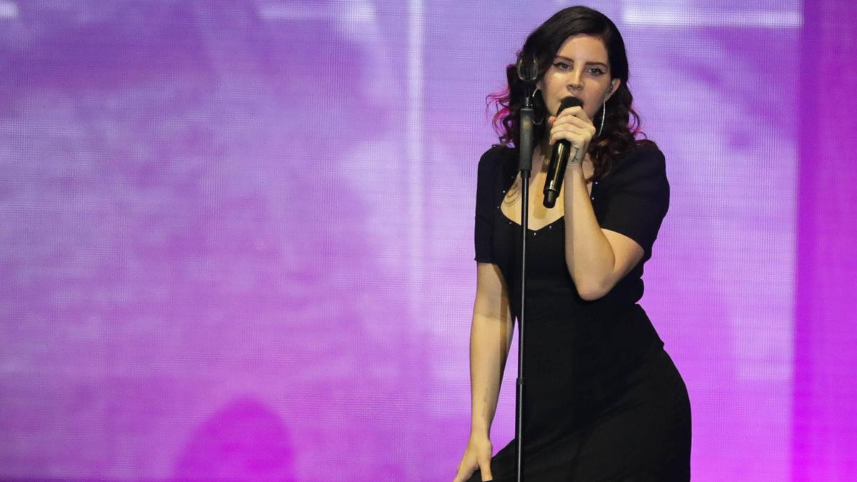 La cantante, Lana del Rey.