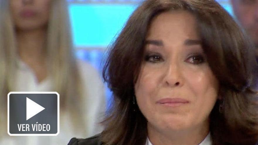 Isabel Gemio rompe a llorar ante Susanna Griso por el caso Nadia