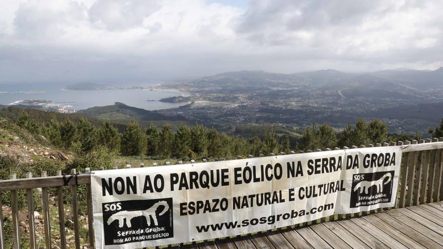 Los parques eólicos de A Groba se expondrán al público durante solo 15 días