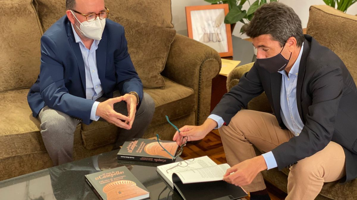 El presidente de la Diputación y el alcalde de El Campello