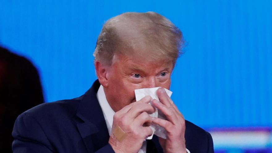 """Trump acusa a los demócratas de """"dirigir"""" a los antifas"""