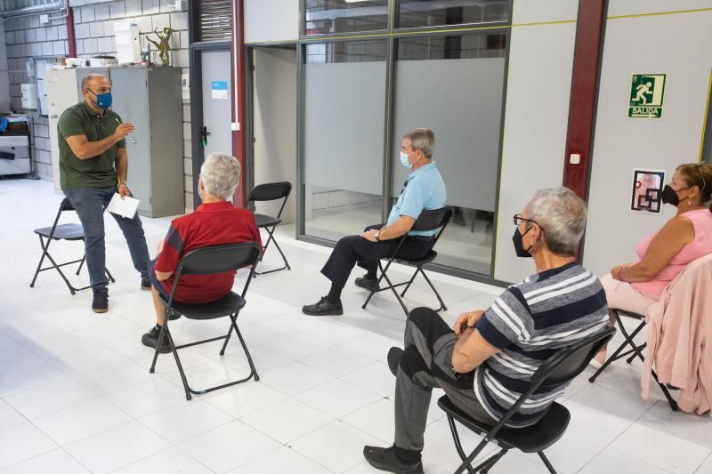 Reunión de Fiestas con los grupos que desean participar en la próxima edición de Las Habaneras