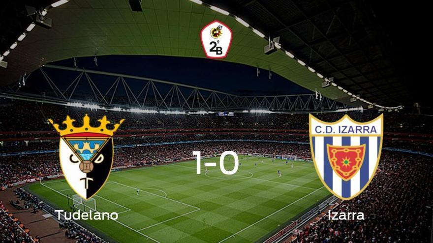 El Tudelano aprovecha la segunda parte para ganar al Izarra (1-0)