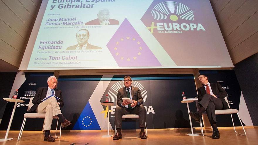 Margallo y Eguidazu ven en la vacuna la senda para avanzar en la integración europea