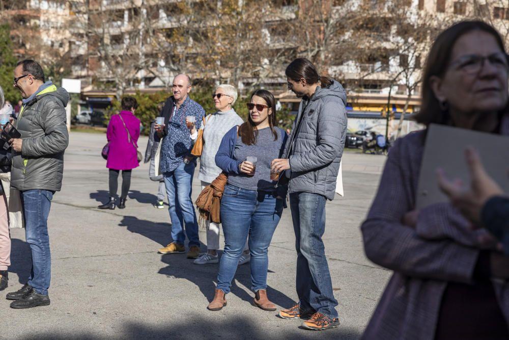 Un escenario itinerante para potenciar el uso social de la lengua catalana