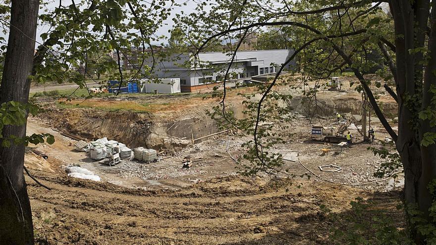 La nueva sede del IPLA en La Corredoria comienza a tomar forma junto al Incar