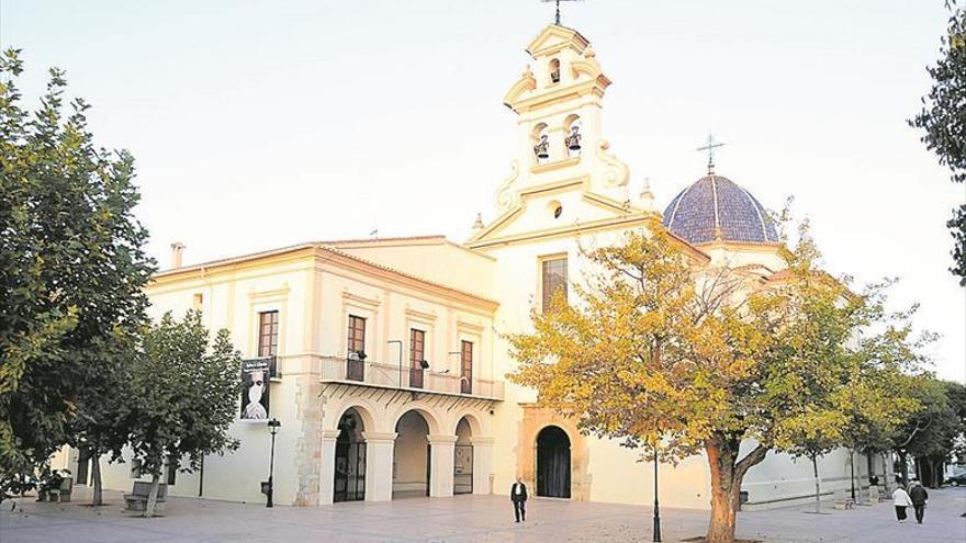 Basílica de Lledó. 'Del poble de Castelló sigau llum i auxiliadora'