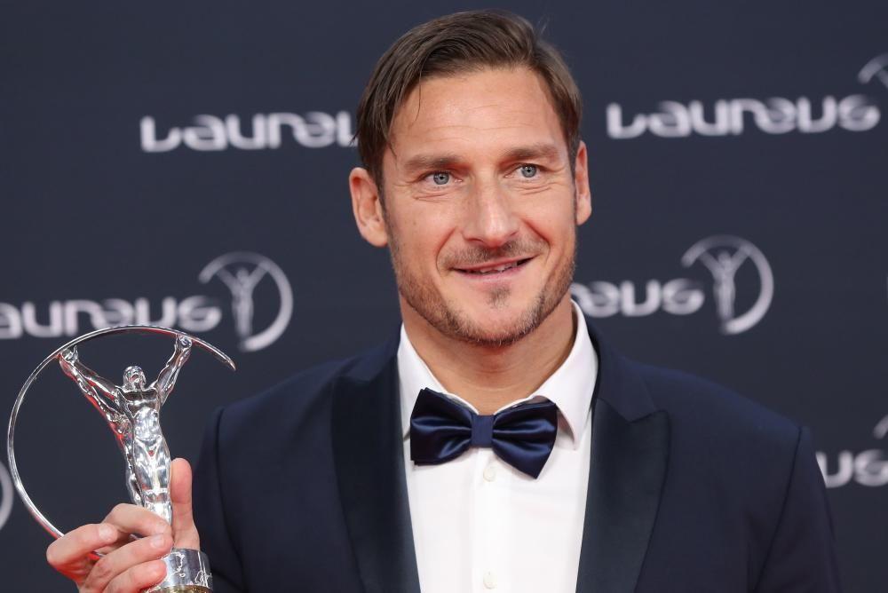 El exfutbolista italiano Francesco Totti.