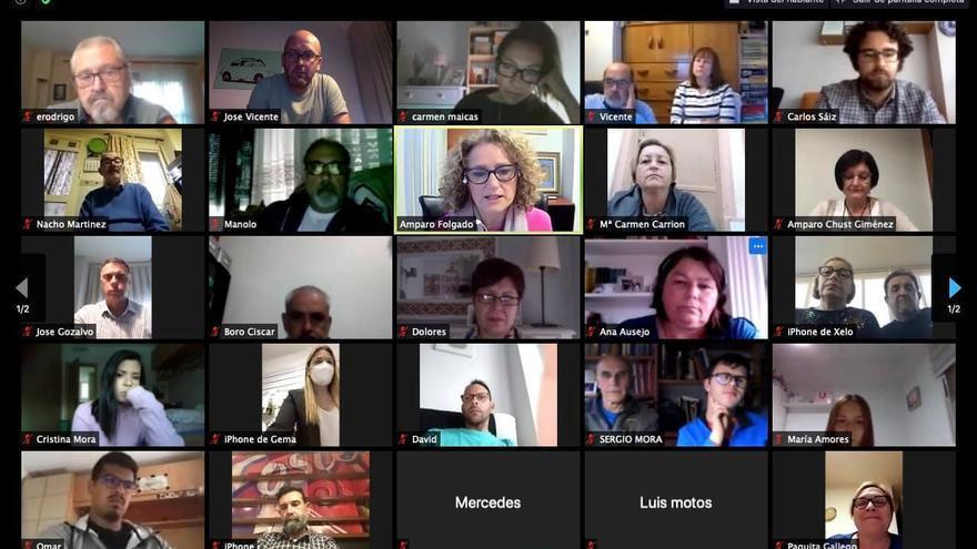Folgado se reúne con los afiliados de Torrent para presentar su proyecto
